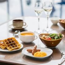 ご宿泊の皆様に無料の軽朝食をご用意しています(7:30~10:00/グランヴィラ棟ラウンジ)(イメー
