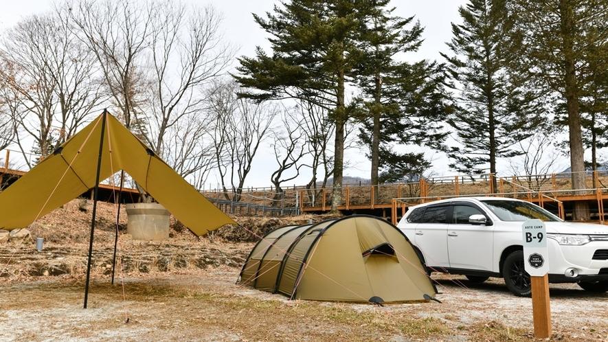 キャンプ オートサイト