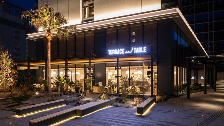 Terrace and Table(2階 レストラン)外観