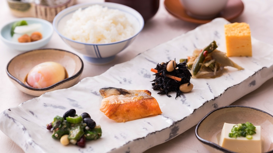 【朝食】オープンキッチンの出来立てメニューが楽しめる朝食ブッフェ