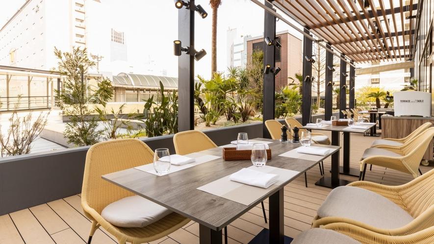 Terrace and Table(2階 レストラン)テラス席