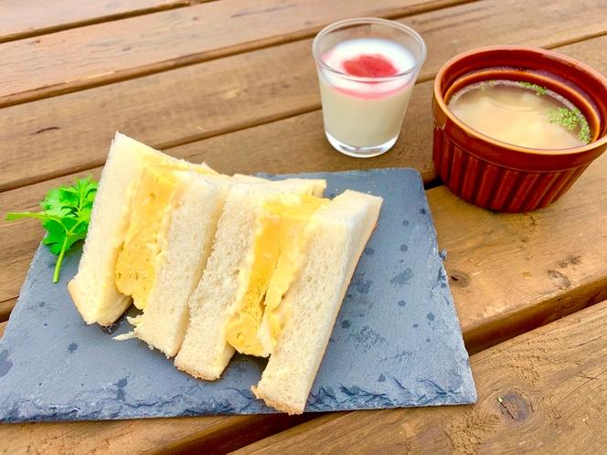 【ご朝食】サンドイッチセット