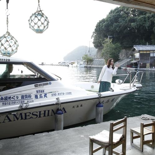 日本のベネチア「伊根の舟屋」!ベネチア同様、船でチェックインも可能です♪