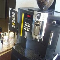 ウエルカムコーヒーではドトールコーヒーをお楽しみ頂けます。