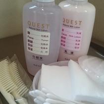 女性大浴場には化粧水等もございます。是非ご利用下さいませ。