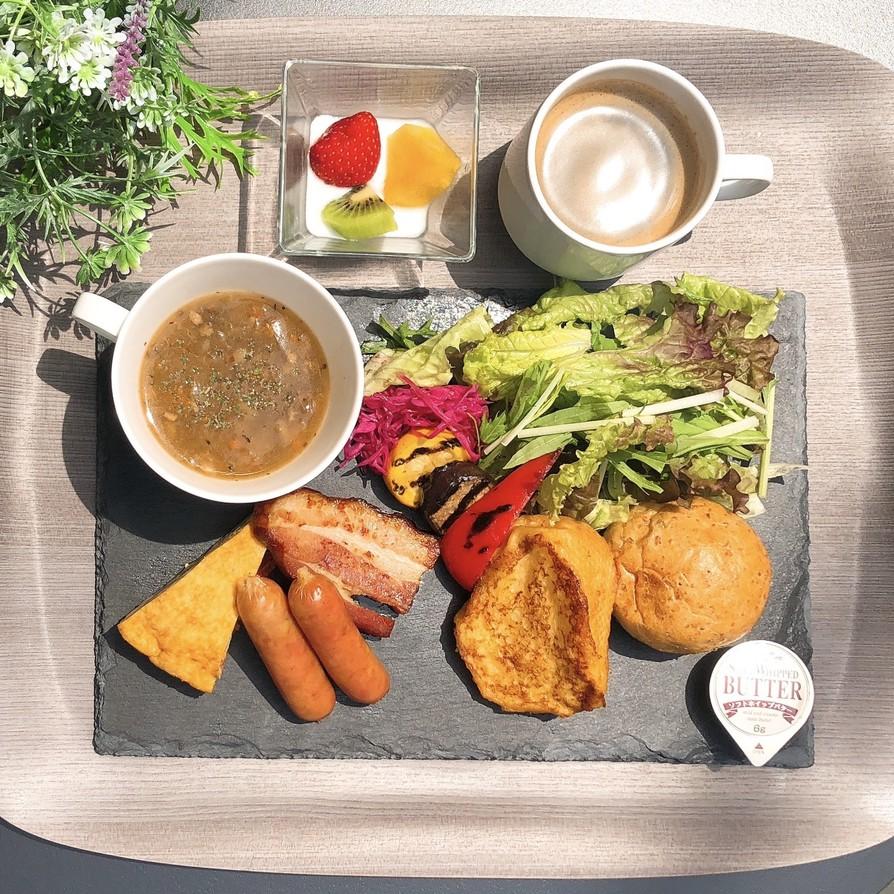 【選べる朝食】洋プレート