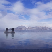 【冬・露天風呂】四季折々で楽しめる景色をご堪能ください♪