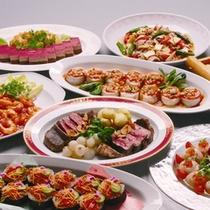*【料理一例】彩り鮮やかな宴会用メニュー。