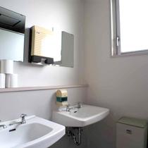 *大広間にお泊りの方用にのお手洗いもございます。