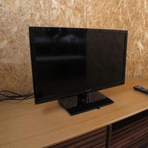 *共有のテレビ1台を設置しております。
