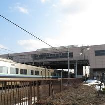 *当館から美唄駅まで歩いて徒歩5分。札幌までは電車で最速35分。とアクセス良好!