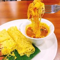 【食事一例】5つ星ホテルシェフによる絶品のマレーシア料理をご堪能ください。