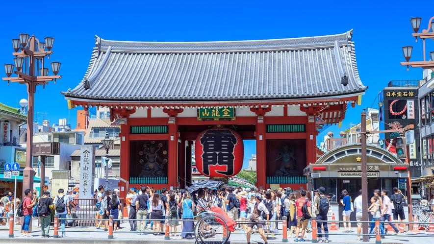 【観光】浅草寺
