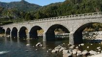 【周辺】耶馬渓橋(オランダ橋):日本百名橋の一つにも数えられており、8連のアーチは日本最多かつ唯一。