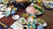 【夕食】選べる鍋-禅海鍋or海鮮鍋からお選びいただけます! ※画像は禅海鍋