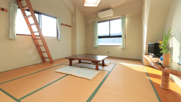 【ロフト付き】10畳和室