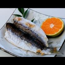 女将が開いた旬魚の干物をお出しします。