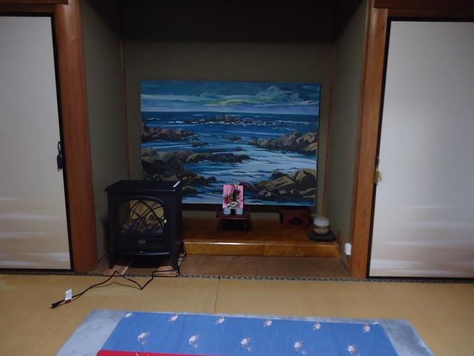 客室1床の間 他に縁