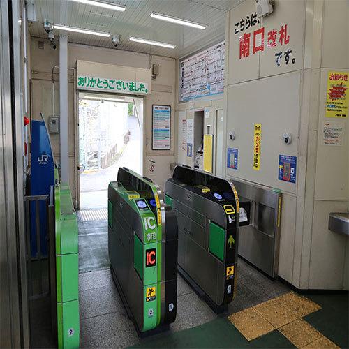 田端駅南口(中から)
