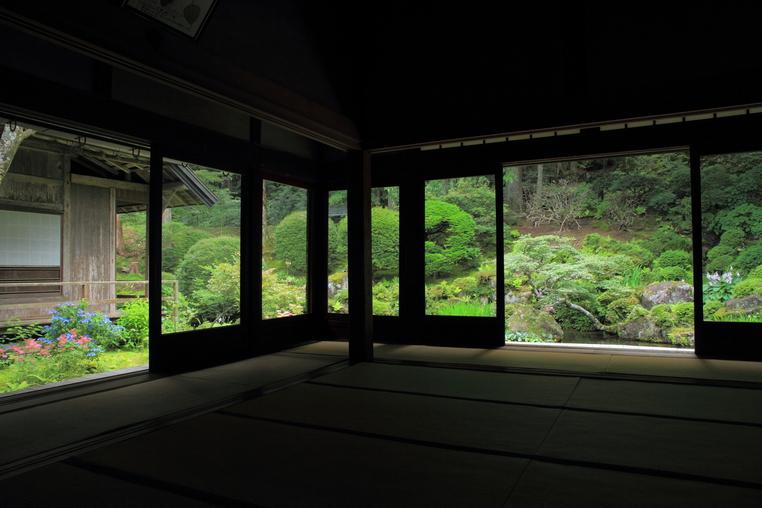 駒ヶ根 光前寺 本坊客殿庭園