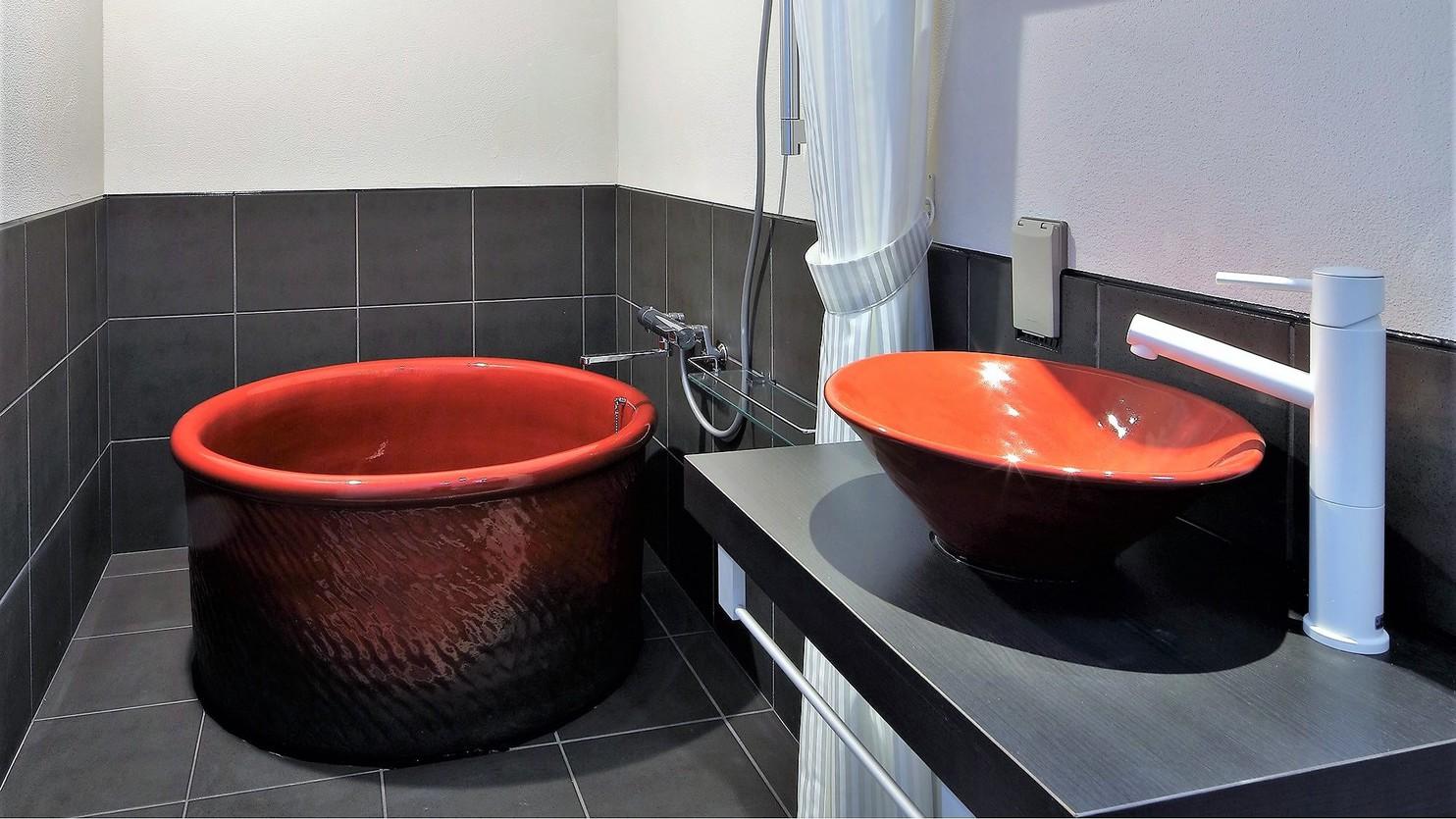 Bathroom402号室 紅楓(Momiji) Superior Double Room
