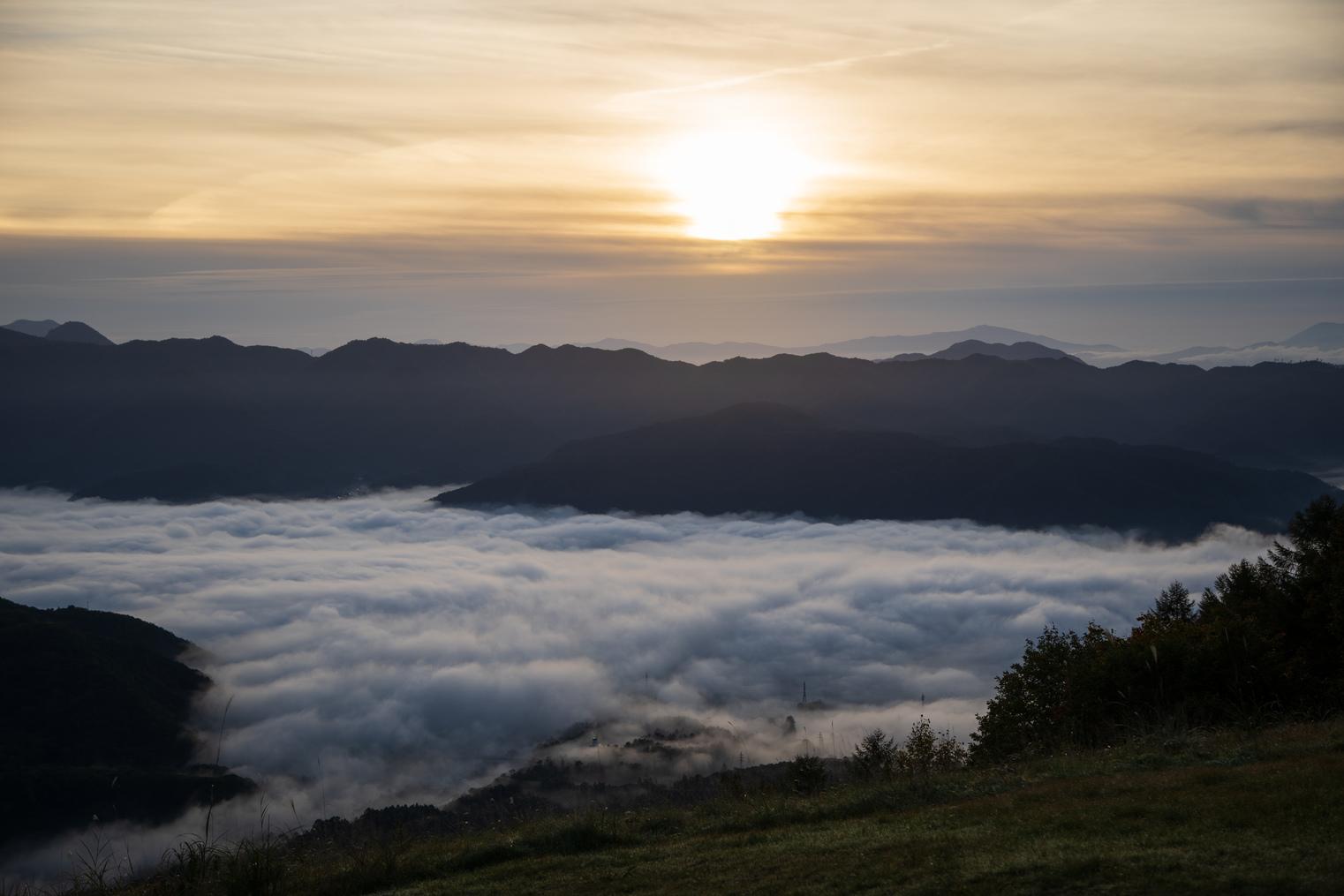 ご来光と共に雲海をご覧いただける日も