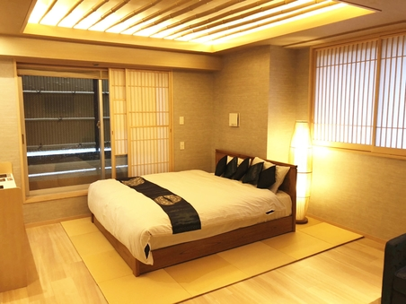 【禁煙】クイーンスイートルーム(露天風呂付)40平米