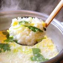 □料亭喜楽亭で味わえる雑炊