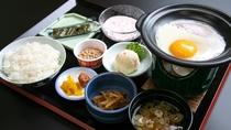 *朝食一例/温かい和朝食