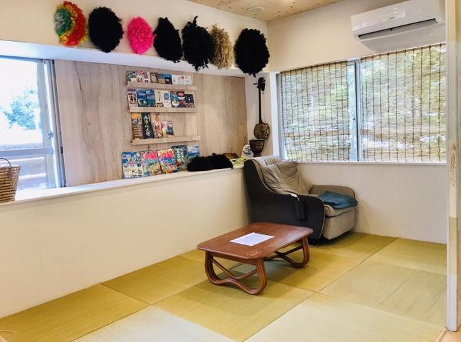 琉球畳とマッサージチェアー