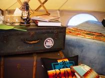 グランピングテント:贅沢&お手軽なグランピングライフを楽しめます。
