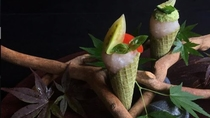 *夕食一例/LA ROSE NOIRE × Foodionコラボ
