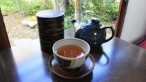 *客室一例/お部屋で一息お茶セット