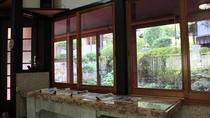 *レストラン/趣のある窓際の風景