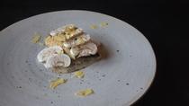 *夕食一例/甘鯛炙り-乳酸発酵マッシュルームのソース