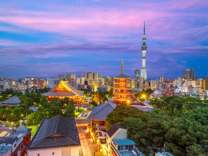【アクセス】東京スカイツリー 約40分