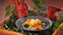 別注料理 伊勢海老の餡掛け(※6月〜8月は禁漁につきお受けできない可能性があります)