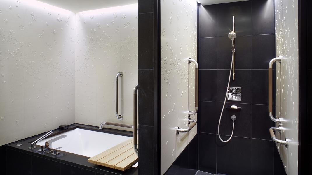 客室/デラックスガーデン バスルーム