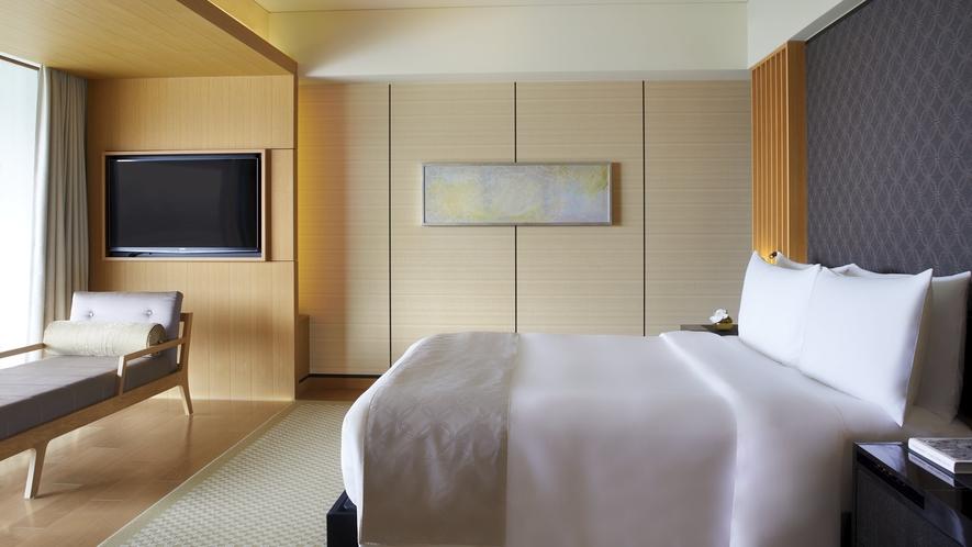 客室/コーナースイートKITA ベッドルーム