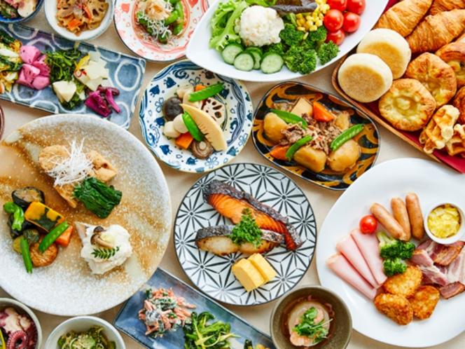 【朝食】和洋食ブッフェ(イメージ)