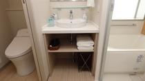 【EXダブルルーム】バス・トイレ・洗面所セパレート