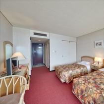**客室一例/オーシャンビューのお部屋はファミリーやカップルに大人気!