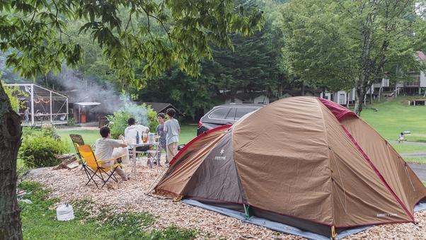 「テントサイト・C」 オートキャンプ専用/40平米<電源付>