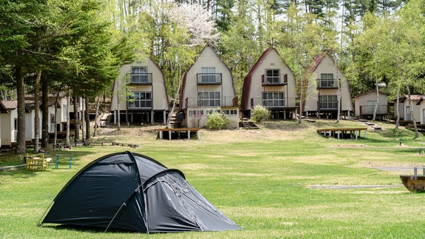 「テントサイト・B」 ソロキャンプ向け/区画仕切りなし