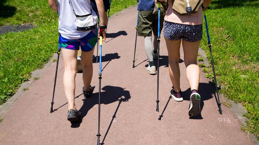 【Nordic Walking】詳細やお申込みは別途、直接お問合せください。