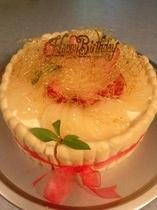 梨のケーキ(別注文)