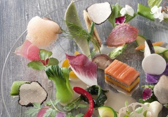 【早割28・朝夕食付き】「TATERU YOSHINO」北の大地で旬の秋薫るフレンチディナーを堪能