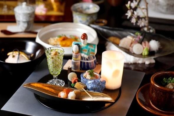 【京都下鴨茶寮-北のはなれ-】北海道の食材を使った京料理、秋の彩り和会席 / 夕食・朝食付