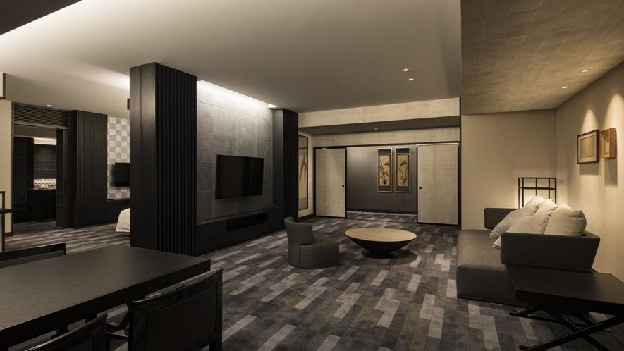 禅スイートルーム(禁煙・130平米)