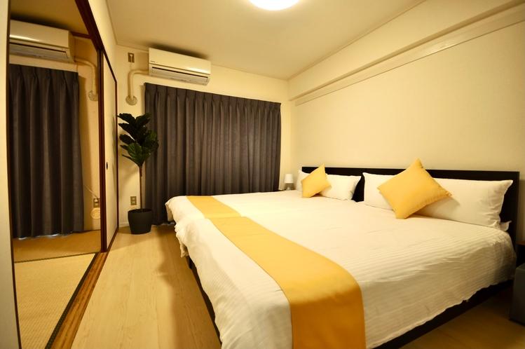 3DKデラックスルーム(ベッドルーム)